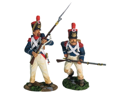 Napoleonic French Grenadiers Assault Set #1