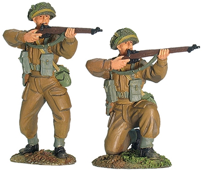 British Infantry Firing Set #1 - Only 2 in stock!