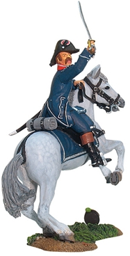 Waterloo - French 1st Infantry Mounted Officer #1