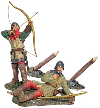 Battle of Agincourt - English Archer Set #3