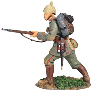 WW I German Infantry Advancing - Only 1 left
