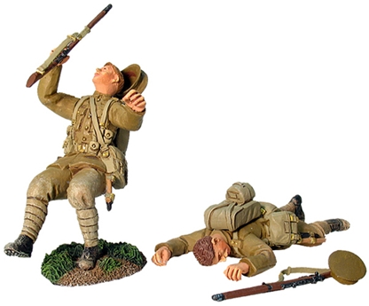 British Royal Fusiliers - Wounded and Dead Set #1
