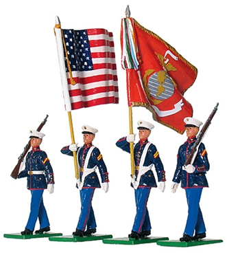 U.S. Marine Corps 8th and I Colour Party