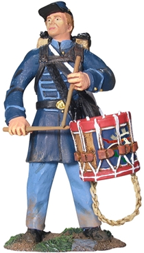 Union Infantry Drummer in Frock Coat