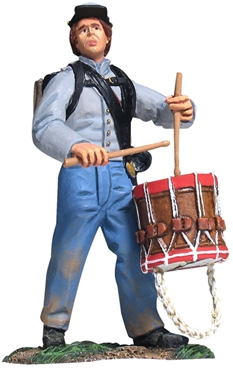 Confederate Infantry Drummer