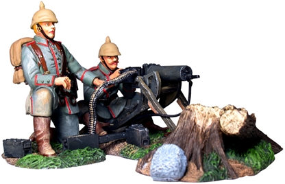 German Machine Gun Firing Set #1