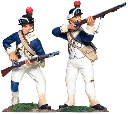 New York Light Infantry Firing Line Set #1