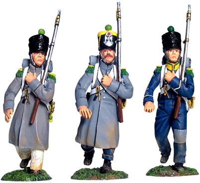 French Light Inf Voltigeurs March Attack Set #1