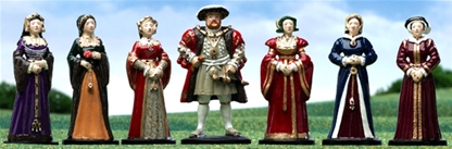 Henry VIII and his Six Wives - one in stock!