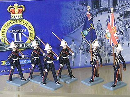 Royal Marines Colour Party