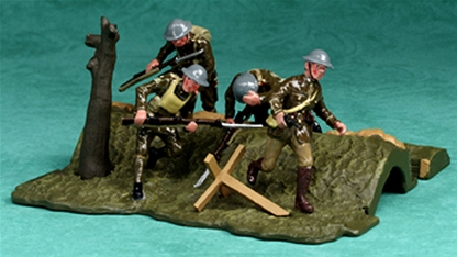 Over the Top! British Trench with Assault team