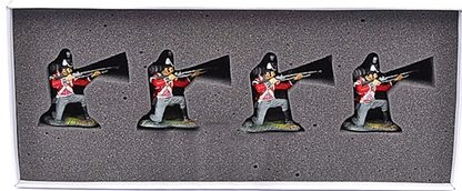 Napoleonic British Infantry Kneeling Firing