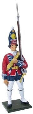British Grenadier Private - 1st Foot Guards 1755