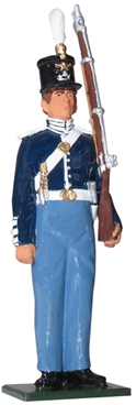 Private US Infantry - Dress Uniform - 1841-5
