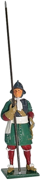 Pikeman - The Coldstream Guards 1670