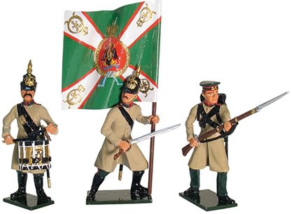 Russian Tarutinski Jagers Command Set #1