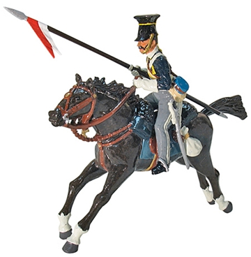 British 17th Lancers Charging Set #1