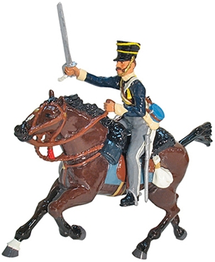 British 13th Light Dragoons Charging Set #1