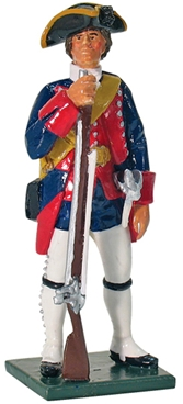 Private New Jersey Regiment 'Jersey Blues' 1755