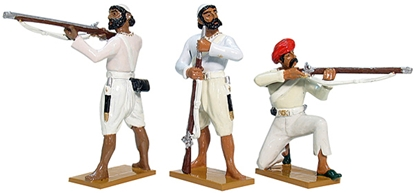 Sepoy Firing Line Set #1 - Only 3 remain in stock!