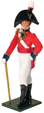 Officer - 1st Foot Guards 1755 - Only 2 in stock!