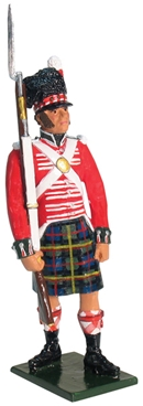 Private Queen's Own Cameron Highlanders - 1815