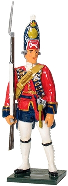 Grenadier NCO - 1st Foot Guards 1755