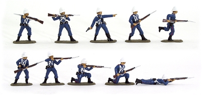 Thw Post Office Rifles - 1880s - Fully Painted