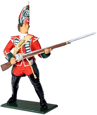 British Grenadier - 45th Regiment of Foot - 1754-6