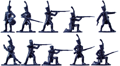 Napoleonic French Young Guard Infantry