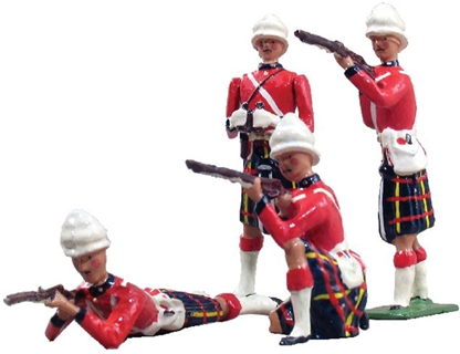 Cameron Highlanders Firing - only one set in stock