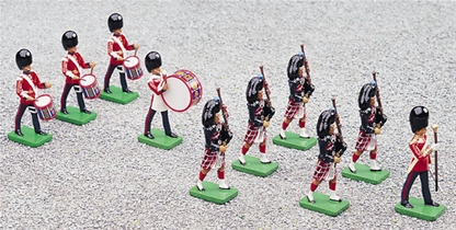 Scots Guards - Marching band - only one left