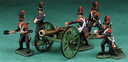 Napoleonic French Guard Artillery - 1 set in stock