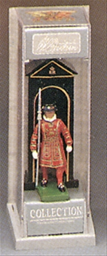 Beefeater on Guard with Sentry Box