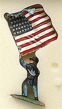 24th Michigan Iron Brigade Flag Bearer