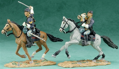 Union Cavalry Sergeant and Bugler