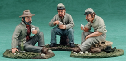 C.S.A. Camp Scene - only two remain in stock