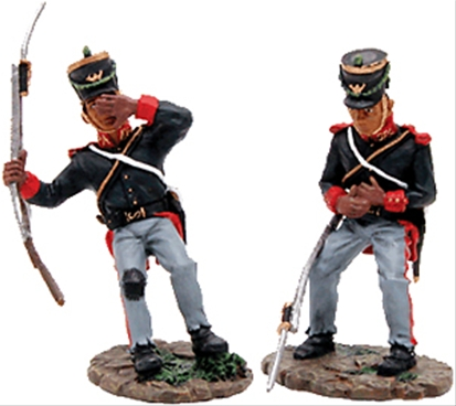 Mexican Wounded Set - Alamo series
