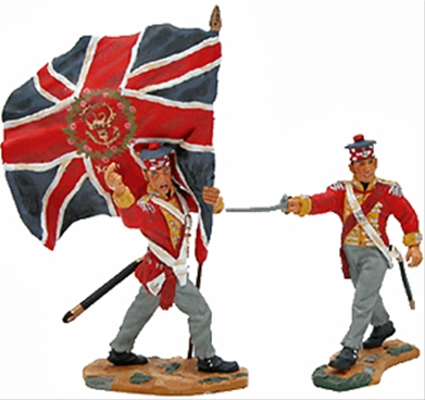 93rd Regiment Captain and Ensign