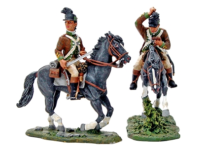 1st Regiment of Dragoons - American Rev. - 2 left