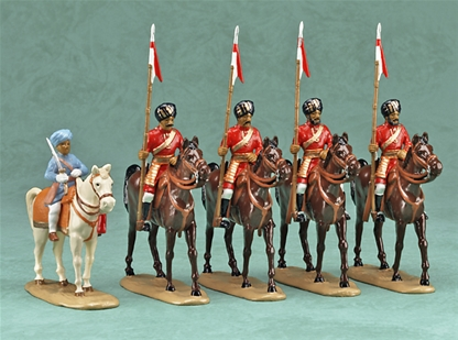 Maharaja of Patiala & Lancers