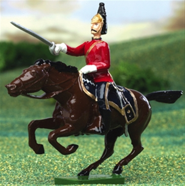 2nd Dragoon Officer - Mounted