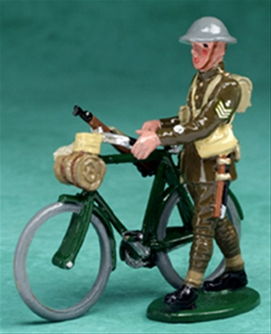 Walking Cyclist Sgt. of the Dorset Yeomanry