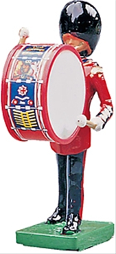 Coldstream Guards Band - Bass Drum