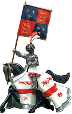 English Standard Bearer - Mounted