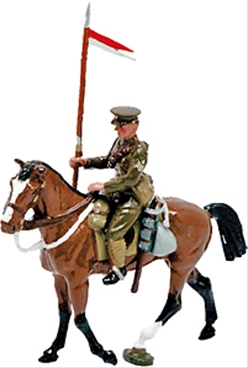 British Mounted Lancer - 1921