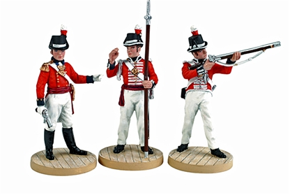 Napoleonic British Marines - Only 1 set in stock!