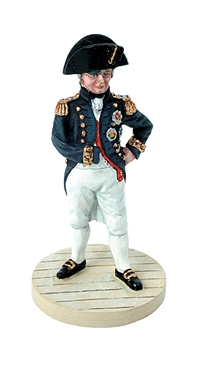 Nelson in uniform - Trafalgar 1805
