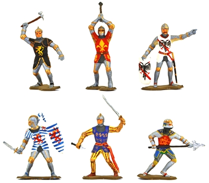 Medieval Knights - Fully painted