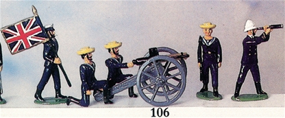 Naval Gatling Gun Team - Zulu War